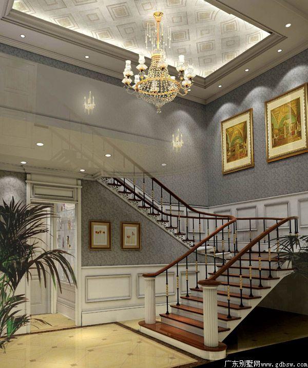 三层楼梯装修效果图