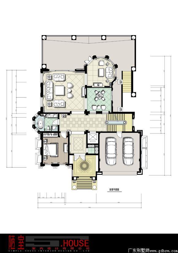 空间构成,别墅平面图设计的合理性是别墅设计中的