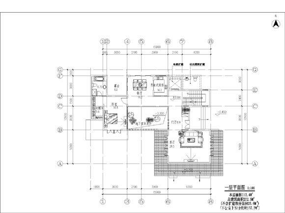 别墅设计   别墅地下室平面图   花园绿化也是别墅平面规划图