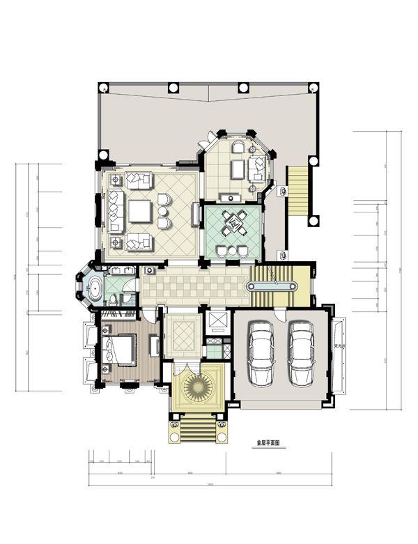 房子别墅平面设计图展示