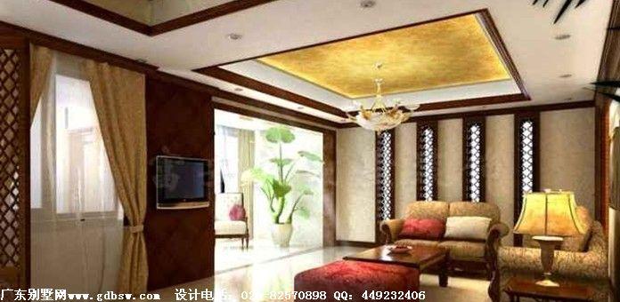 东南亚别墅装修   东南亚风格的特点是原始自然、色泽鲜艳、