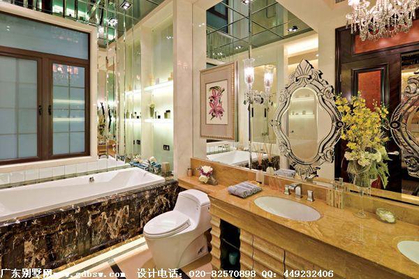 欧式别墅室内设计效果图 浴室