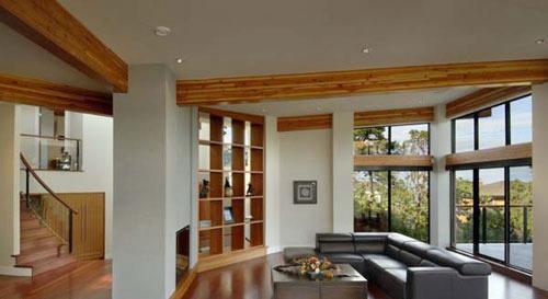 美式独栋别墅装修设计厨房效果图