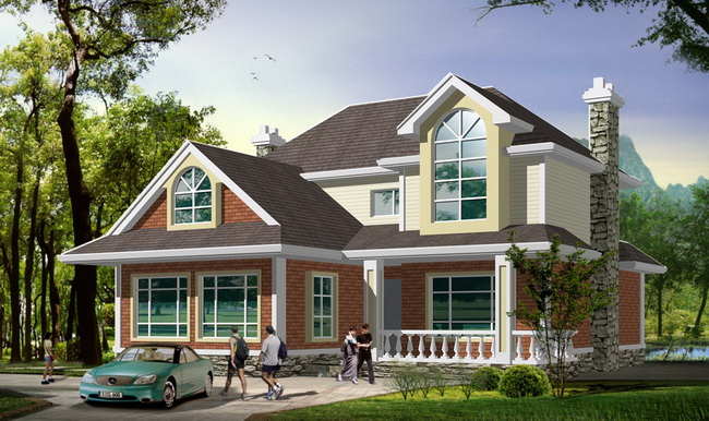 农村房屋设计图,农村自建别墅房