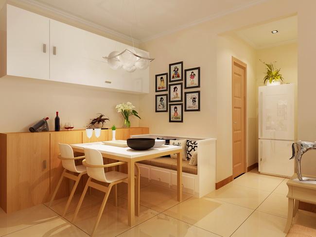 别墅室内设计师室内装修设计案例,本套室内装修设计体现现代简约风格,温馨沉稳的气息。简约的现代装修风格,侧重于对整体居室色调和协调度的把握,摒弃了过于复杂的造型手法。在选材用料上,采用现代材质与天然原木的交织相融,缔造出和谐、别致的居室气息。整体空间的大基调是暖色系,给人温馨沉稳大气之感。别墅室内设计师在节省空间设计方式的同时,更富时尚动感。实木打造的餐厅,营造简单温馨舒适的空间。通透的地板,将空间映衬的整洁、雅致。 室内设计装修设计效果图  餐厅用来家庭聚餐,注重他的实用和效果的结合。餐厅设计则最重要的就