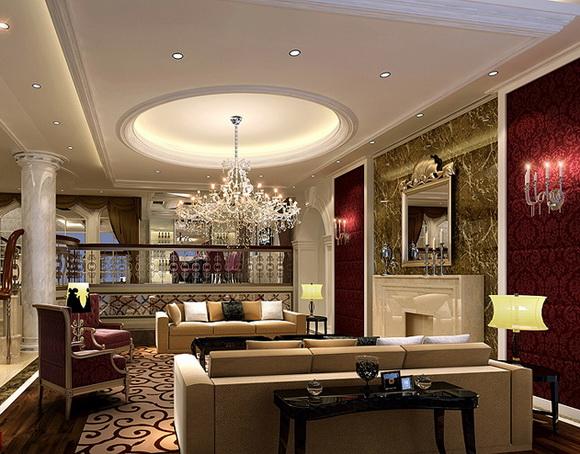 装修效果图案例、别墅室内装饰装修设计,广州专业设计师团队
