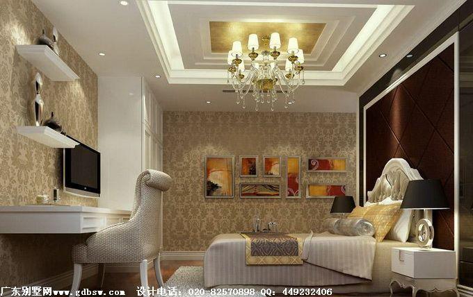广东别墅室内装修设计效果图三:-广东别墅效果图高清图片