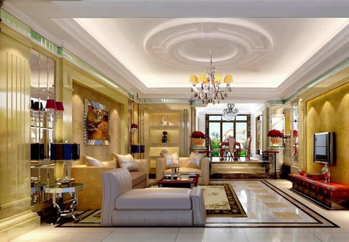 别墅装修室内装饰公司案例三   广州别墅装修室内装饰公司案