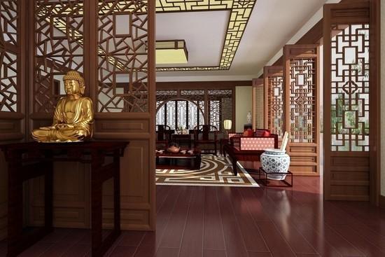 新中式风格别墅设计说明