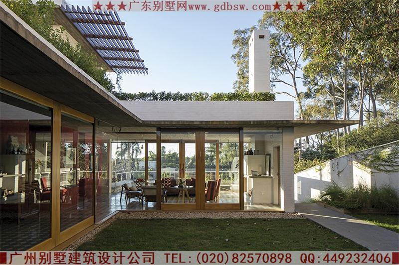 别墅建筑设计实景图-别墅建筑设计案例 巴西拉帕别墅