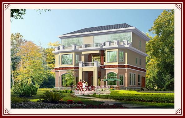 小别墅,跑过许多家设计院,寻找   效果图   别墅设计   新农村