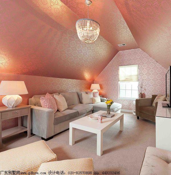 现代简约阁楼客厅装修效果图欣赏 36款创意阁楼的梦想高清图片